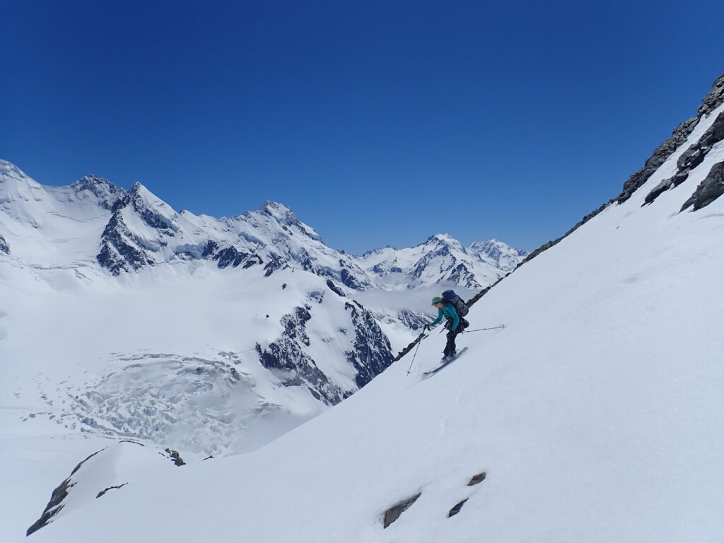 Ski Mountaineering in New Zealand